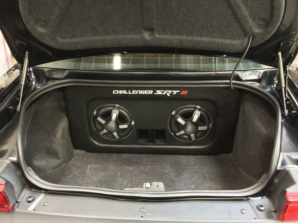 Dodge Challenger Srt 8 Car Audio Upgrade Mobile West